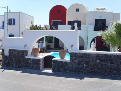 Hotels in Kamari, Santorini