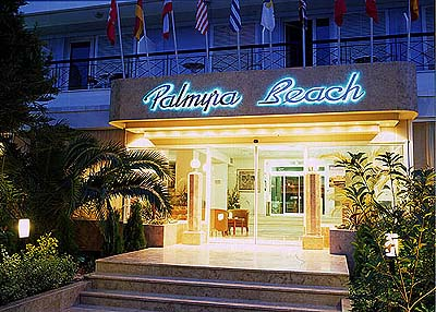 Palmyra Beach Hotel In Athens Southern Seaside Suburbs