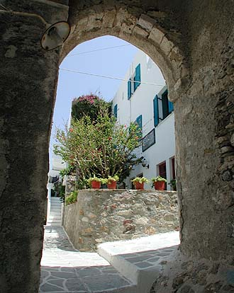 hotels in Naxos Town (castle area), Naxos