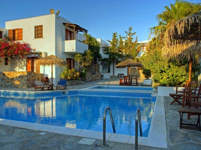 Hotels in Kastraki beach, Naxos