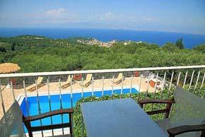 Andreas Villa In Corfu Island Greece