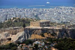 View of Athens and Acropolis