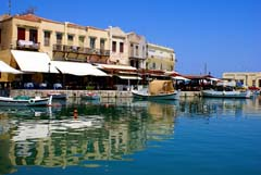 The old town of Rethymnon