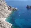 The deep blue of Amorgos
