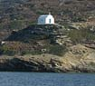 Departing from Amorgos