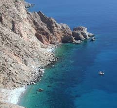 The enchanting island of Amorgos