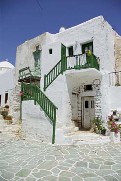 Architecture in Folegandros