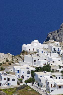 Village in Folegandros
