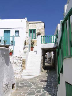 Folegandros traditional architecture
