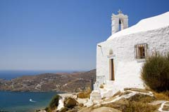 Ios island in Cyclades, Greece