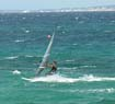Windsurfing in Mikri Vigla beach