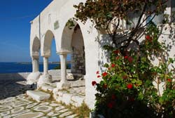 Traditional architecture in Paros