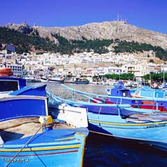 The island of Kalymnos