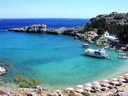 The island of Rhodes has wonderful beaches