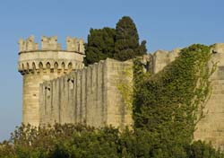 Medieval castles in the island of Rhodes