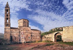 History of Greece - old church in Mani