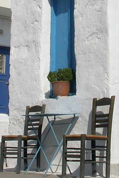 Images from the Greek islands