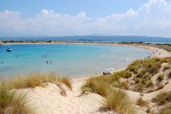 Voidokilia bay in Messinia