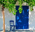 Rhodes island, Greece - a small Greek island house