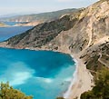 Kefalonia Greece - Beautiful coast of the famous Greek island