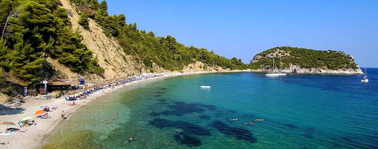 Skopelos Stafylos beach